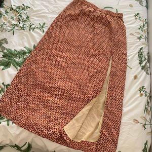 Michael Kors   Maxi Skirt   Boho   Tribal   Slit